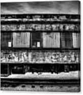 Abandoned Circus Transport Car Canvas Print
