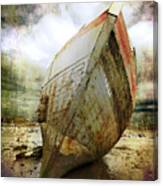 Abandoned Fishing Boat Canvas Print