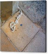 Abandoned Fishing Knot Canvas Print