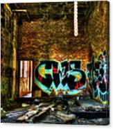Abandoned, Hdr Canvas Print