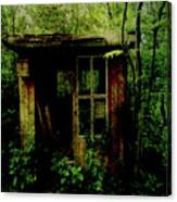 Abandoned Hideaway Canvas Print