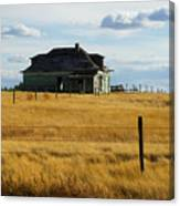 Abandoned Homestead Saskatchewan Canvas Print
