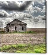 Abandoned House - Ganado, Tx Canvas Print