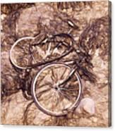 Abandoned - Impressions Canvas Print