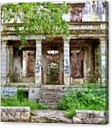Abandoned In Mostar Canvas Print