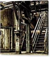 Abandoned Industry Canvas Print
