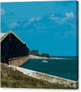Abandoned Keys Bridge Canvas Print