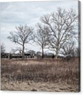 Abandoned Military Site Canvas Print