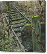 Abandoned Miniature Railway Canvas Print