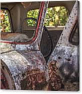 Abandoned Old Truck Newport New Hampshire Canvas Print