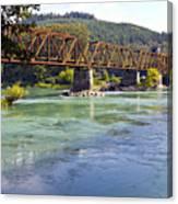 Abandoned Railroad Bridge Canvas Print