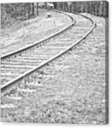 Abandoned Railway Canvas Print