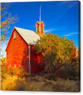 Abandoned Red Barn Canvas Print