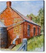 Abandoned Red Brick Cottage Near Maldon Canvas Print