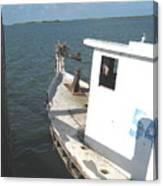 Abandoned Shrimpboat Canvas Print