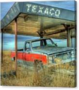 Abandoned Silverado Canvas Print