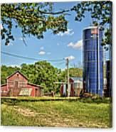 Abandoned Spring Farm Canvas Print