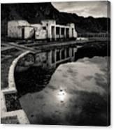Abandoned Swimming Pool Canvas Print