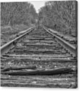 Abandoned Tracks Canvas Print