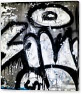 Abandoned Train Car Graffiti Ir Canvas Print