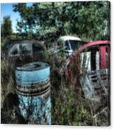 Abandoned Vehicles - Veicoli Abbandonati  1 Canvas Print