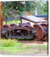 Abandoned Wheels Canvas Print