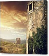 Abandoned Windmills Canvas Print
