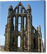 Abbey At Whitby  Canvas Print