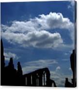 Abbey Skyline Canvas Print