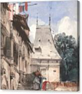 Abbey St-amand, Rouen Canvas Print