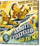 Abbott And Costello Go To Mars, Bud Canvas Print