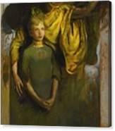Abbott Handerson Thayer 1849 - 1921 Boy And Angel Canvas Print