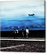 Abby Road By The Bay Canvas Print