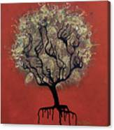 Abc Tree Canvas Print