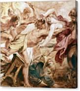 Abduction Of Hippodamia Canvas Print