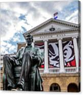 Abe On Bascom Hill Canvas Print