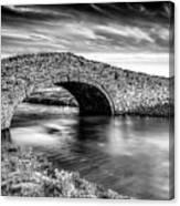 Aberffraw Bridge V2 Canvas Print
