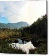 Abol Mt And Round Pond Canvas Print