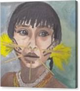 Aborigen Venezolano Canvas Print
