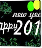 About New Year Canvas Print