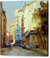 About The Arbat. Plotnikov Lane. Canvas Print