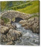 Above Ashness Bridge Canvas Print