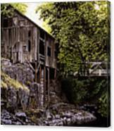Above Cedar Creek Canvas Print