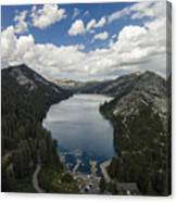 Above Echo Lake Canvas Print