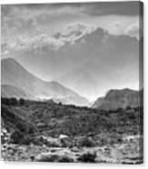 Above Muktinath, Nepal Canvas Print