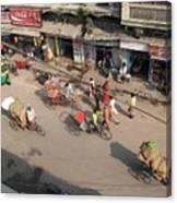 Above Pahar Ganj Canvas Print