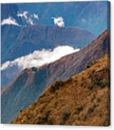 Above The Clouds In The Andes Canvas Print