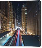 Above The Loop Towards The Trump Tower Canvas Print