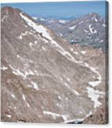 Above Treeline Canvas Print