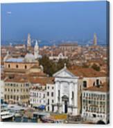 Above Venice Canvas Print